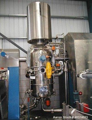 Used-APV Pasilac Thermovac Vacuum Reactor/Filter/Dryer.
