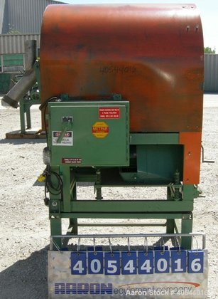 Used-Metal Parts ProcessingHorizontal Parts Tumbler/Barrel