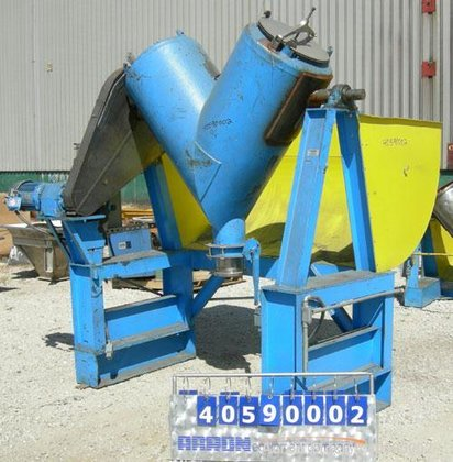 Used- Twin Shell Blender, approximately