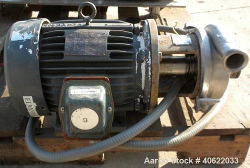 Used- APV/Crepaco Centrifugal Pump, model