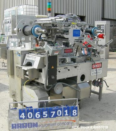 Used- TevoPharm Flow Wrapper, model