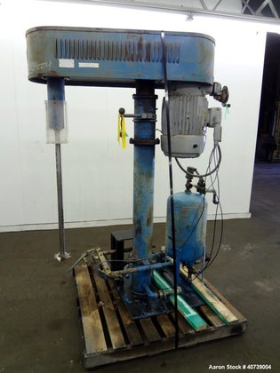 Used- Hockmeyer Disperser, Model HV15.