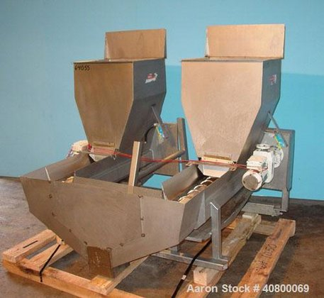 Used- Vanmark Potato Feeder consisting