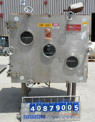 Used- Hull Vacuum Shelf Dryer,