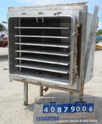 Used- Hull Vacuum Shelf Dryer,