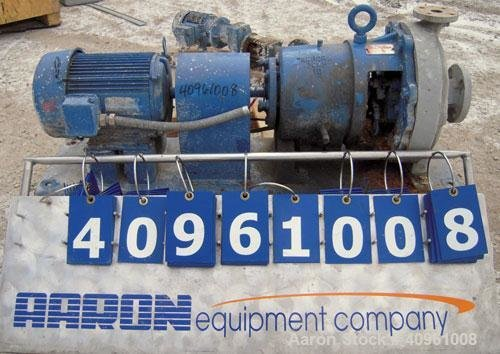 Used- Aurora Centrifugal Pump, Type