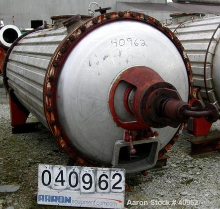 Used- Vevey Rotary Vacuum Dryer,