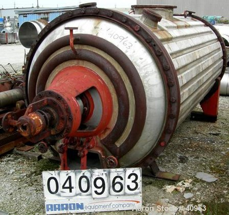 Used- Vevey Rotary Vacuum Dryer,