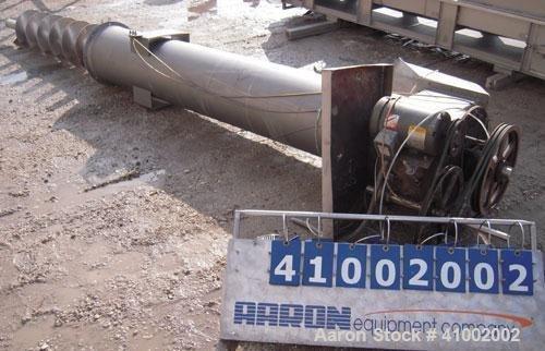 Used- Starr Vertical Screw Conveyor,