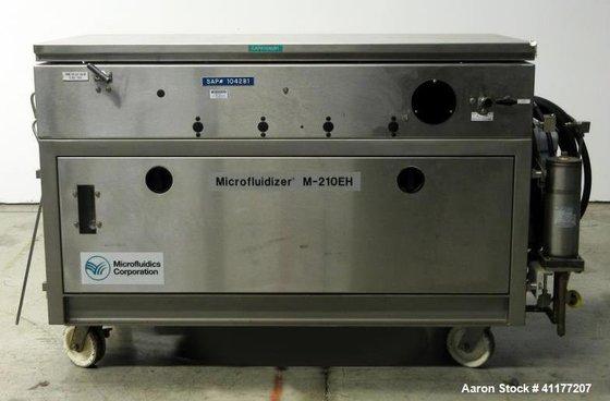 Used- Microfluidics Pilot Scale Microfluidizer
