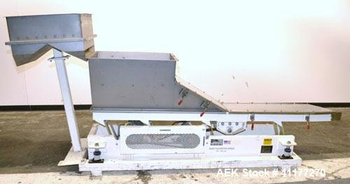 Used- Deamco Vibrating Hopper Feeder,