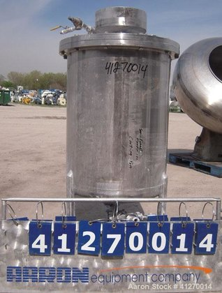 Used- Custom Fabricators Pressure Tank,