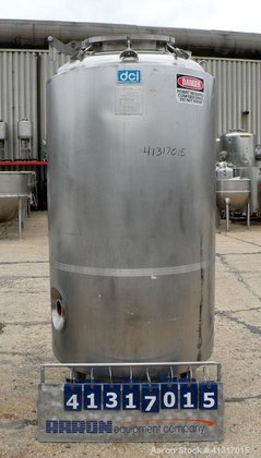 Used- DCI Reactor, 414 Gallon,