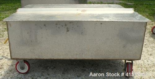 Used- Walker Stainless Tank, 120