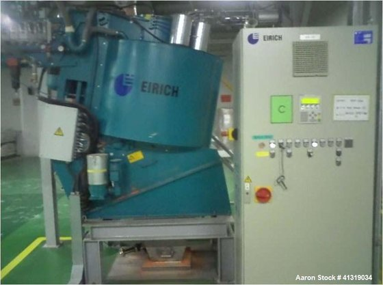 Used- Eirich High Intensity Mixer,