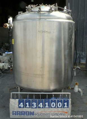 Used- Mueller Reactor, 350 Gallon,