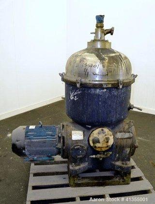 Used- Westfalia TA-60-02-506 Solid Bowl