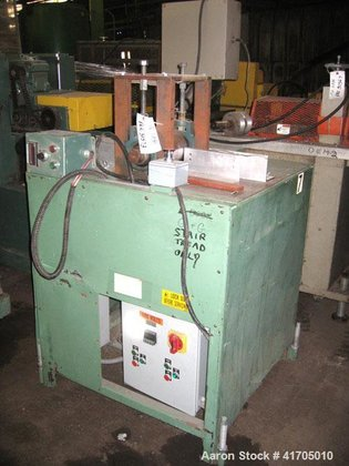 "Used- Embosser, (2) 6"" cored"