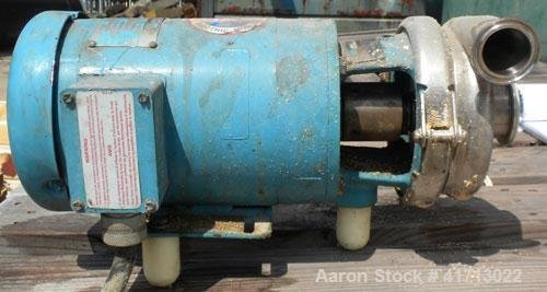 Used- Cherry Burrell FlexfloClose-Coupled Centrifugal