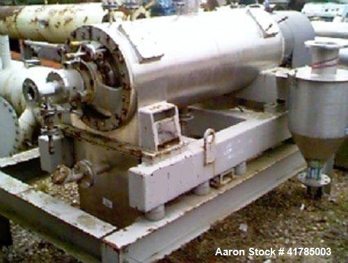 Used-Siebtechnik TS-420EK Decanter Centrifuge. Stainless