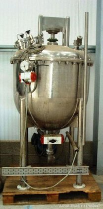 Used-Giusti Scraped Surface Mixer, stainless