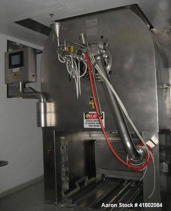 "Used- 48"" Glatt Coating Pan,"