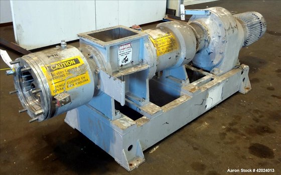 "Used- Bonnot 8"" Extruder, Model"
