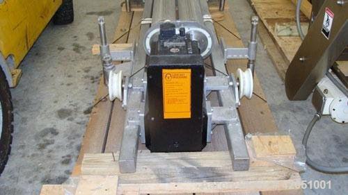 Used- Meincke Two Roll Extruder/Expander.
