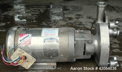 Used- Fristam Centrifugal Pump, model