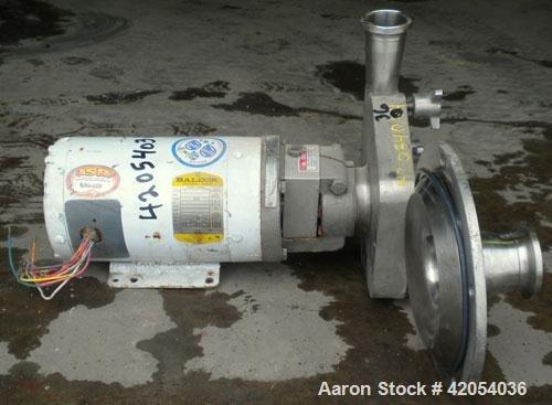 Used- Fristam Sanitary Centrifugal Pump,