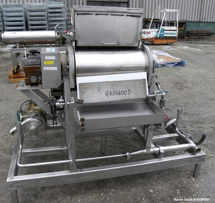 Used- Sani-Matic Rotary Drum Strainer,