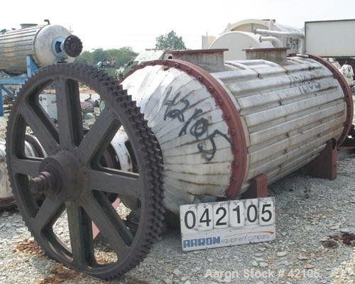 Used- Buss Rotary Vacuum Dryer,