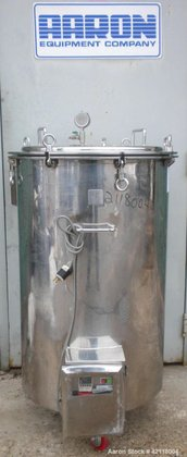 Used- Kettle, 50 Gallon, 304
