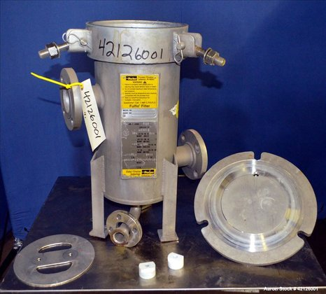 Used- Parker/Fulflo Cartridge Filter, Model