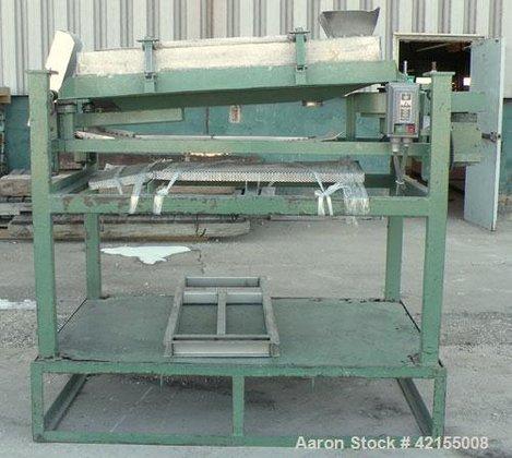 Used- Screener, 304 Stainless Steel.