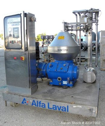 Used- Alfa-Laval CHPX 510-SGD-34CGT-50 Desludger