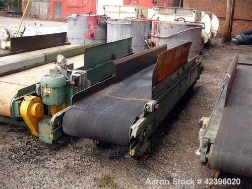 Used- Belt conveyor, Carbon Steel.
