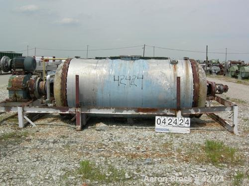 Used- Buss Rotary Vacuum Dryer,