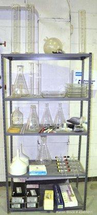 Used- Lab Glassware consisting Of: