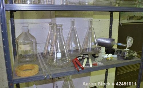 Used- Lab Glassware consisting Of: