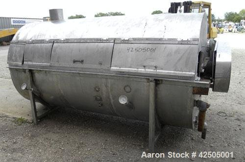 Used- Rotary Blancher, 304 Stainless