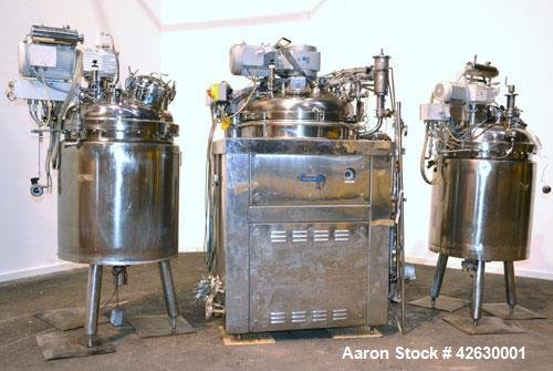 Used- BecoMix Mixing System Consisting