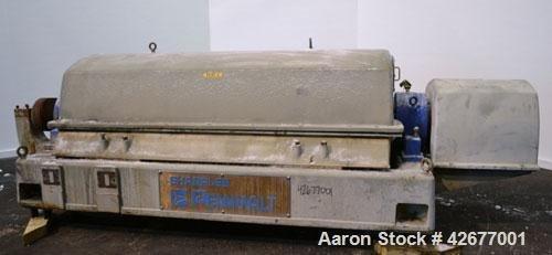 Used- Sharples PM-75000 Super-D-Canter Centrifuge.