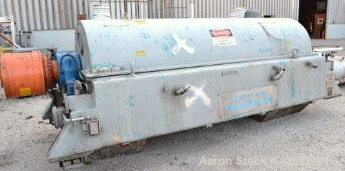 Used- Sharples Super-D-Canter PM-76000 Centrifuge.