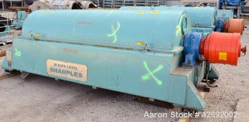 Used- Sharples Super-D-Canter DS-706 Centrifuge,