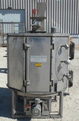 Used- Wyssmont Turbo-Dryer, Model K10,