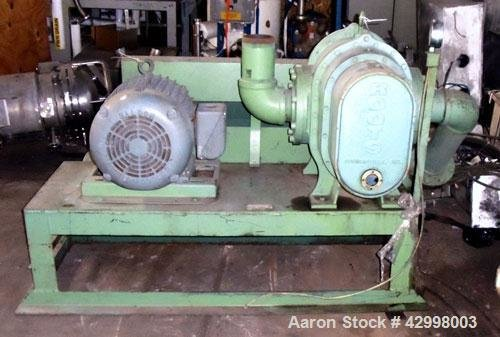 Used- Roots Rotary Lobe Blower,