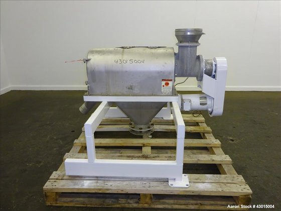 Used- Prater Industries Rota-Sieve Centrifugal