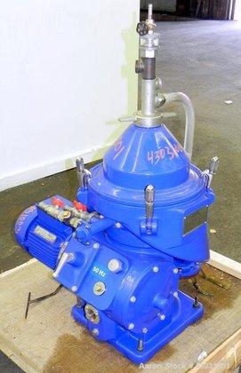 Used- Alfa Laval MAPX-204TGT-24-50/4139-3 Desludger