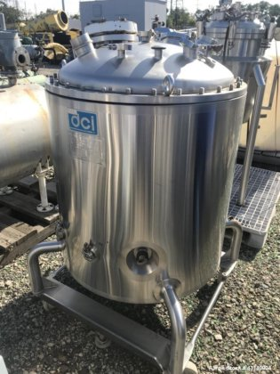 Used- DCI Reactor, 100 Gallon,